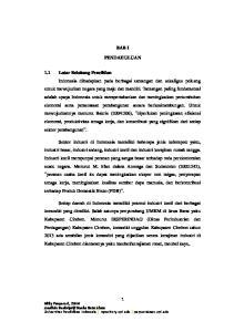 BAB I PENDAHULUAN. Milly Puspasari, 2014 Analisis Deskriptif Usaha Batu Alam Universitas Pendidikan Indonesia repository.upi.edu perpustakaan.upi