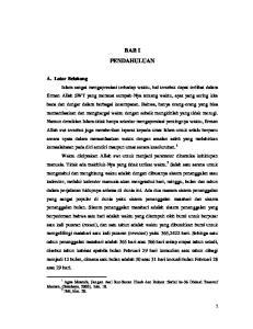 BAB I PENDAHULUAN. Modern, (Surabaya, 2003), hlm Ibid, hlm. 20