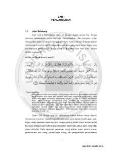 BAB I PENDAHULUAN. repository.unisba.ac.id. 1.1 Latar Belakang