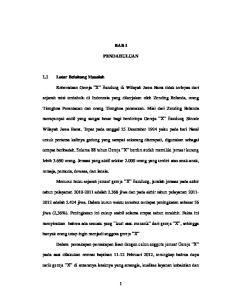 BAB I PENDAHULUAN. sejarah misi terdahulu di Indonesia yang dikerjakan oleh Zending Belanda, orang