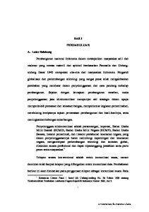 BAB I PENDAHULUAN. undang Dasar 1945 merupakan cita-cita dari masyarakat Indonesia. Pengaruh