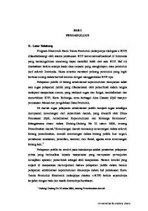 BAB I PENDAHULUAN. Universitas Sumatera Utara. 1 Undang-Undang No 32 tahun 2004, tentang Pemerintahan daerah