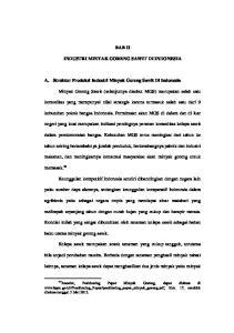 BAB II INDUSTRI MINYAK GORENG SAWIT DI INDONESIA. A. Struktur Produksi Industri Minyak Goreng Sawit Di Indonesia