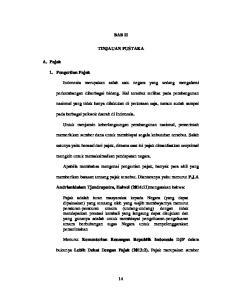 BAB II TINJAUAN PUSTAKA. pada berbagai pelosok daerah di Indonesia. mungkin untuk memaksimalkan pendapatan negara
