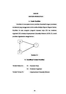 BAB III METODE PENELITIAN. A. Desain Penelitian. korelasional yang menggunakan teknik analisa Multiple Regresi (Regresi Ganda)