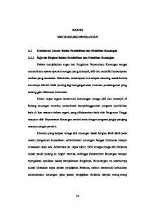 BAB III METODOLOGI PENELITIAN. 3.1 Gambaran Umum Badan Pendidikan dan Pelatihan Keuangan