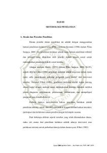 BAB III METODOLOGI PENELITIAN. bentuk penelitian tindakan kelas (PTK), menurut Kemmis (1998) (dalam Wina