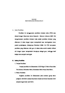 BAB III METODOLOGI PENELITIAN. dikenal dengan Classroom Action Research. Menurut Arikunto (2007: 58)