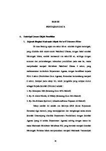 BAB III PENYAJIAN DATA. 1. Sejarah Singkat Madrasah Aliyah Ma arif Udanawu Blitar