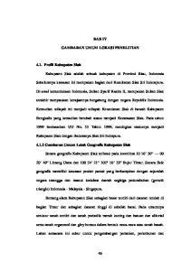 BAB IV GAMBARAN UMUM LOKASI PENELITIAN. Kabupaten Siak adalah sebuah kabupaten di Provinsi Riau, Indonesia