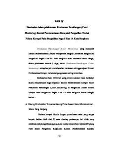 BAB IV. Hambatan dalam pelaksanaan Perekaman Persidangan (Court. Monitoring) Komisi Pemberantasan Korupsidi Pengadilan Tindak
