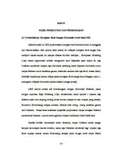 BAB IV HASIL PENELITIAN DAN PEMBAHASAN. 4.1 Terbentuknya Kerajaan Buol Dengan Gorontalo Awal Abad XIX