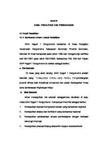 BAB IV HASIL PENELITIAN DAN PEMBAHASAN. Kecamatan Bongomeme Kabupaten Gorontalo Provinsi Gorontalo
