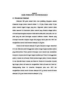 BAB IV HASIL PENELITIAN DAN PEMBAHASAN. Sebanyak 400 gram sampel halus daun jamblang (Syzygium cumini)