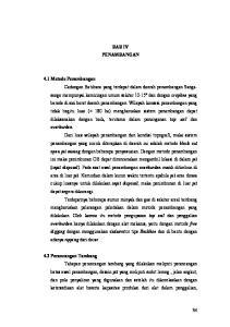 BAB IV PENAMBANGAN 4.1 Metode Penambangan 4.2 Perancangan Tambang