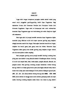 BAB IV PENUTUP. sesuai untuk penggalian gending-gending tradisi Gaya Yogyakarta. Bagi