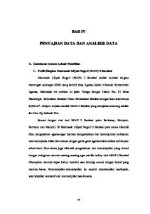 BAB IV PENYAJIAN DATA DAN ANALISIS DATA