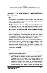 BAB IV PRIORITAS DAN SASARAN PEMBANGUNAN DAERAH TAHUN 2013