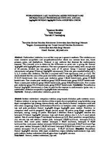 Bagian Anestesesiologi dan Terapi Intensif Fakultas Kedokteran Universitas Sam Ratulangi Manado