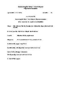 Balatonboglár Város Önkormányzat Képviselő-testülete
