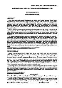 Bangsa Makmur Sejahtera dengan Sistem Dewi Kusumashanti 68
