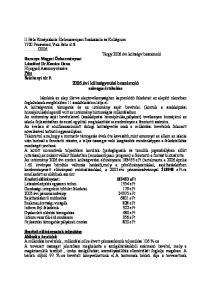 Baranya Megyei Önkormányzat Lászlóné Dr.Kovács Ilona Pécs Széchenyi tér évi költségvetési beszámoló szöveges értékelése