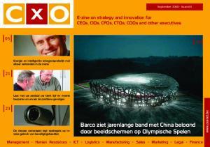 Barco ziet jarenlange band met China beloond door beeldschermen op Olympische Spelen