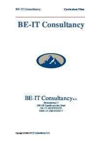 BE-IT Consultancy B.V