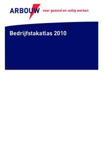 Bedrijfstakatlas 2010