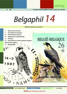Belgaphil 14 P GRATIS voor alle leden van de K.L.B.P. verschijnt driemaandelijks in januari - april - juli - oktober