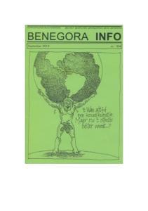 BENEGORA INFO September 2015 nr. 104