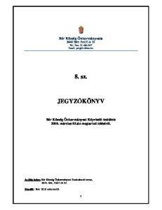Bér Község Önkormányzata 3045 Bér: Petıfi út 32 Tel, Fax: sz