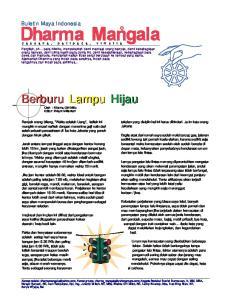 Berburu Lampu Hijau. Buletin Maya Indonesia. teladan yang disiplin hal ini harus dihindari. Ja-im kate orang Jakarta