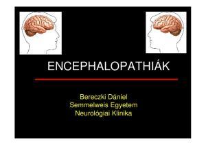 Bereczki Dániel Semmelweis Egyetem Neurológiai Klinika