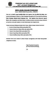Berita Acara Evaluasi Penawaran Pdf Free Download