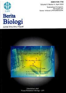 Berita Biologi merupakan Jurnal Ilmiah ilmu-ilmu hayati yang dikelola oleh Pusat Penelitian