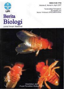 Berita Biologi merupakan Jurnal Ilmiah Nasional yang dikelola oleh Pusat Penelitian Biologi-
