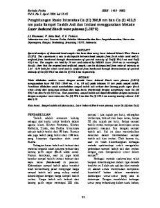 Berkala Fisika ISSN : Vol.9, No.2, April 2006, hal 55-62