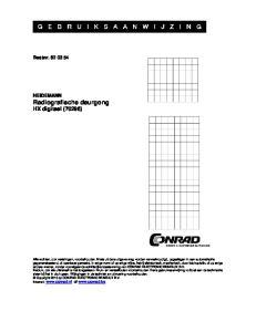 Bestnr HEIDEMANN Radiografische deurgong HX digitaal (70296)