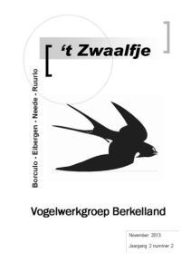 Bestuur Vogelwerkgroep Berkelland