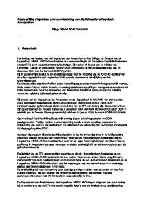 Bestuurlijke afspraken over ontvlechting van de Educatieve Faculteit Amsterdam