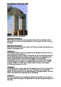 Beursdagboek 10 September 2013