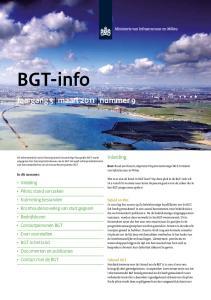 BGT-info. Jaargang 3 maart 2011 nummer 9. Inleiding