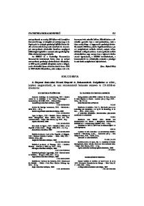 BIBLIOGRÁFIA STATISZTIKAI IRODALMI FIGYELŐ 615