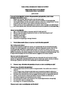 BIJSLUITER: INFORMATIE VOOR DE PATIËNT. Glibenclamide Mylan 2,5 mg, tabletten Glibenclamide Mylan 5 mg, tabletten. glibenclamide