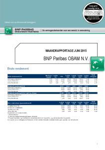 BNP Paribas OBAM N.V