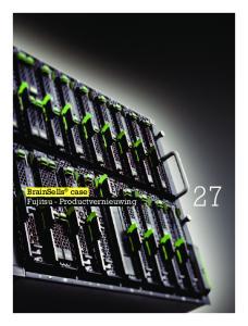 BrainSells case Fujitsu - Productvernieuwing 27