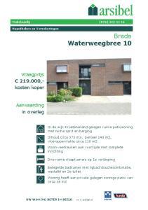 Breda Waterweegbree 10