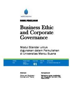 Bu and Go. Modu digun. Kompetensi. Abstract. Ethics and. dan menganalisi. Kode MK. Program. Tatap Muka. Magister Management. Pasca
