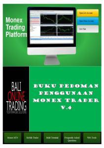 Buku Pedoman Penggunaan Monex Trader v.4